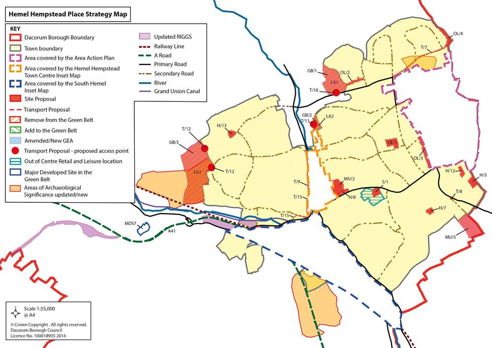 Dacorum Borough Council Site Allocations PreSubmission September